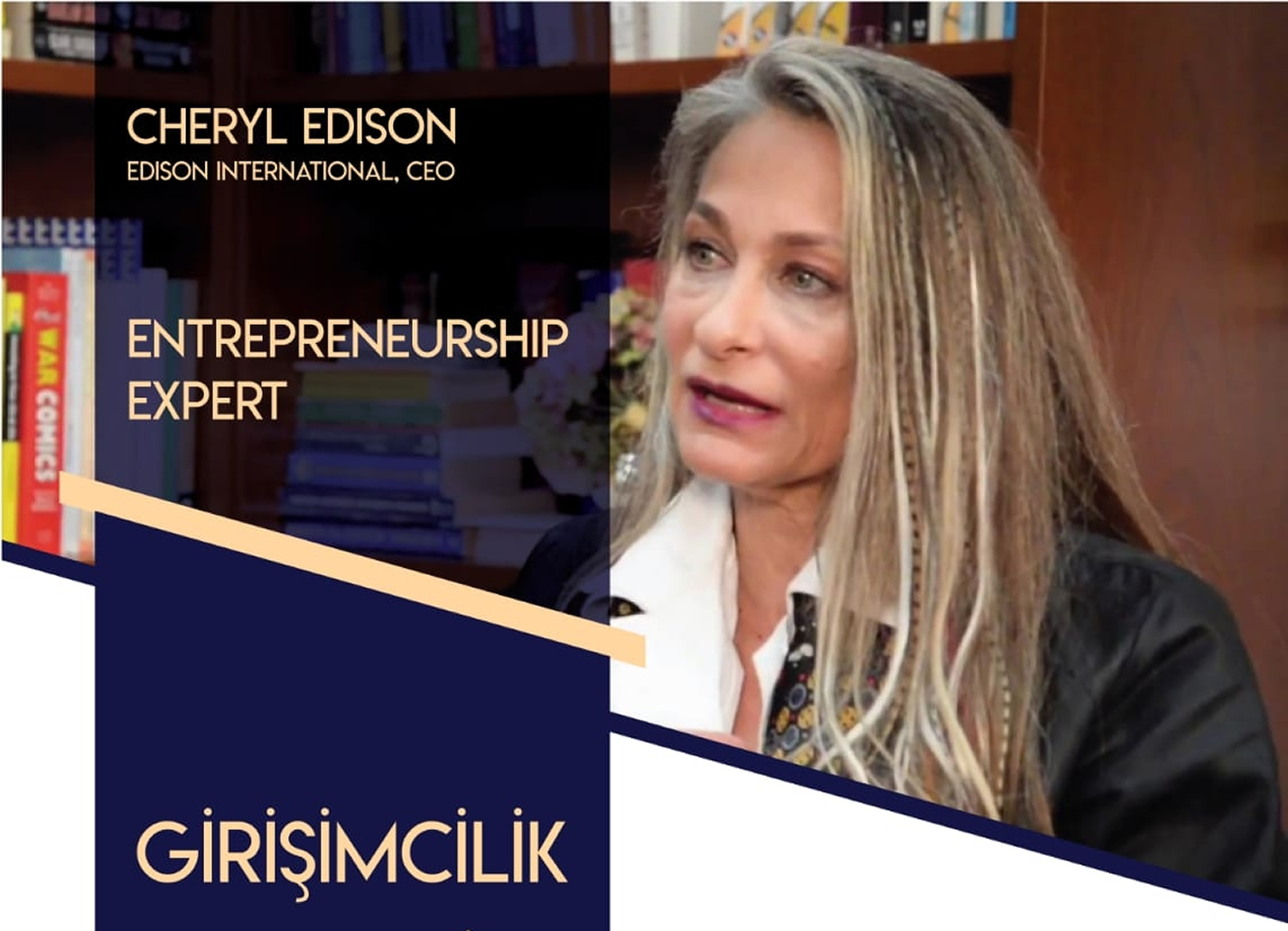 Cheryl Edison International/ CEO